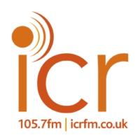 Logo of radio station ICR 105.7 FM