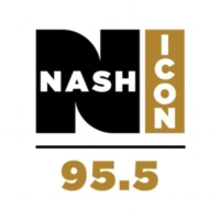 Logo de la radio WSM 95.5 Nash ICON