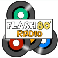 Logo de la radio Flash80' Radio