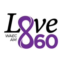Logo of radio station WAEC Love860