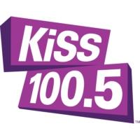 Logo de la radio CHUR-FM KiSS 100.5