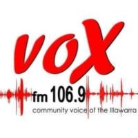 Logo de la radio Vox FM 106.9