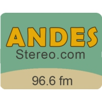 Logo of radio station Andes Stereo 96.6