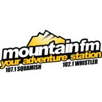 Logo de la radio CISQ-FM Mountain FM