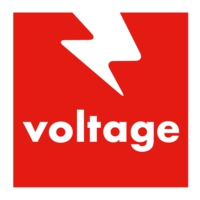 Logo de la radio Voltage