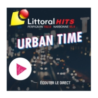 Logo of radio station Littoral Hits Urban Time