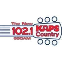 Logo of radio station KAPS Country