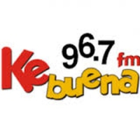 Logo of radio station XHESE Ke Buena 96.7FM