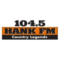 Logo de la radio KNHK-FM 104.5 Hank FM