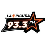 Logo de la radio XHEVE La Más Picuda 93.3 fm