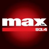 Logo de la radio Max FM 93.4