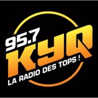 Logo of radio station KYQ 95.7