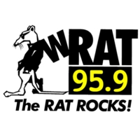 Logo of radio station WRAT 95.9 The RAT