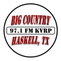 Logo of radio station KVRP Big Country 97.1 FM