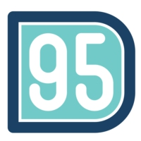 Logo of radio station D95 94.9 FM