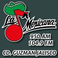 Logo of radio station La Mexicana 950 AM