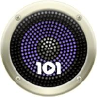 Logo de la radio 101.ru - Modern Talking