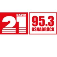 Logo of radio station RADIO 21 - Osnabrück