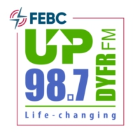 Logo de la radio DYFR FM UP 98.7