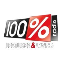 Logo of radio station 100%