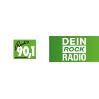 Logo of radio station Radio 90.1 – Dein Rock Radio