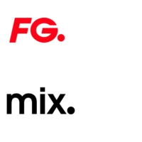 Logo of radio station FG Mix