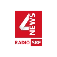 Logo of radio station SRF 4 News