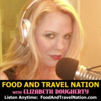 Logo of radio station Food And Travel Nation with Elizabeth Dougherty
