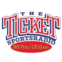 Logo of radio station KTCK Sportsradio 96.7 & 1310 The Ticket