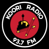 Logo de la radio Koori Radio 93.7FM