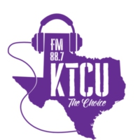 Logo of radio station KTCU-FM 88.7