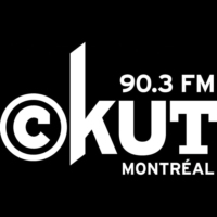Logo of radio station CKUT 90.3FM