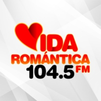 Logo de la radio XHDRD Vida Romántica 104.5 FM