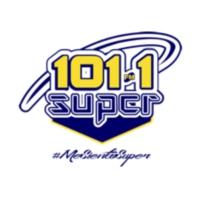 Logo of radio station XHAT-FM Súper 101.1
