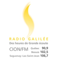Logo of radio station CION-FM Radio Galilée