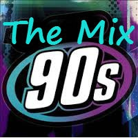 Logo de la radio The Mix 90s