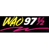 Logo of radio station WAO 97.5 FM