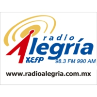Logo of radio station XHFP Radio Alegría 98.3 FM