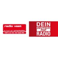 Logo of radio station Radio Vest – Dein DeutschPop Radio