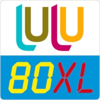 Logo of radio station lulu80XL