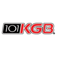 Logo of radio station KGB 101.5 FM