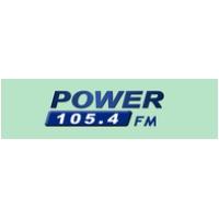 Logo of radio station Power 105.4 FM