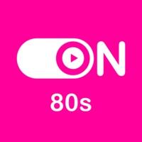 """Logo de la radio """"ON 80s"""""""