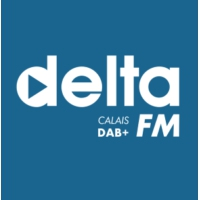 Logo of radio station Delta FM Calais