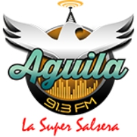 Logo of radio station AGUILA 91.3 FM