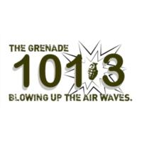 Logo of radio station KAOL 101.3 The Grenade