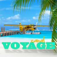 Logo of radio station canal voyage webradio