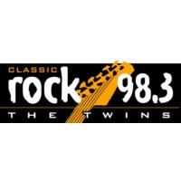 Logo de la radio KTWS Classic Rock 98.3 The Twins