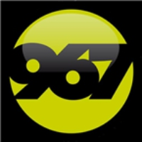 Logo of radio station LA967FM