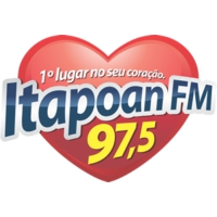 Logo of radio station Itapoan FM 97.5